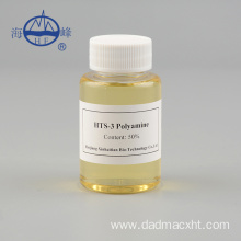 Polyamine for sewage treatment oily wastewater